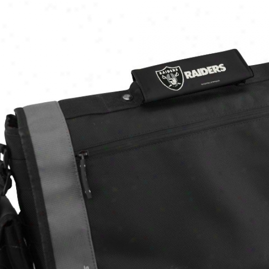 Oakland Raiders Black 2-pack Luggage Spotters