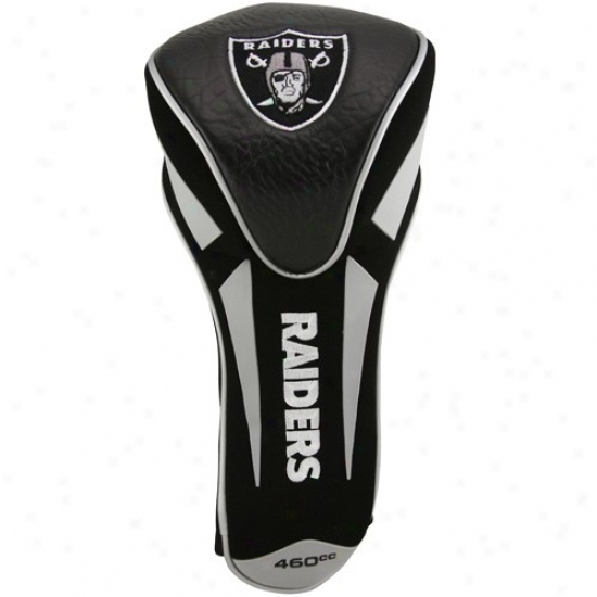 Oakland Raiders Black-gray Jumbo Apex Headcover