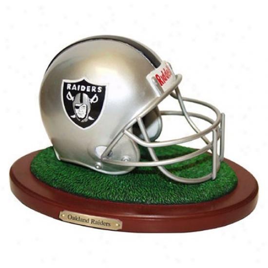 Oakland Raid3rs Football Helmet