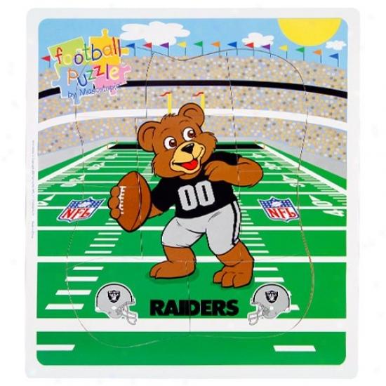 Oakkland Raiders Football Puzxle