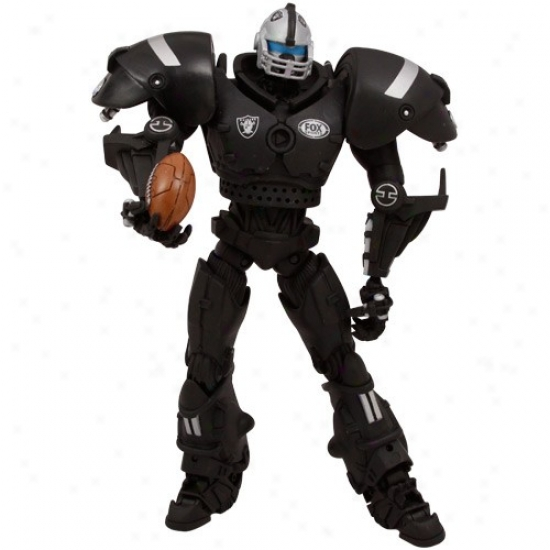 Oakland Raiders Fox Sports Cleatus The Robot Action Figure