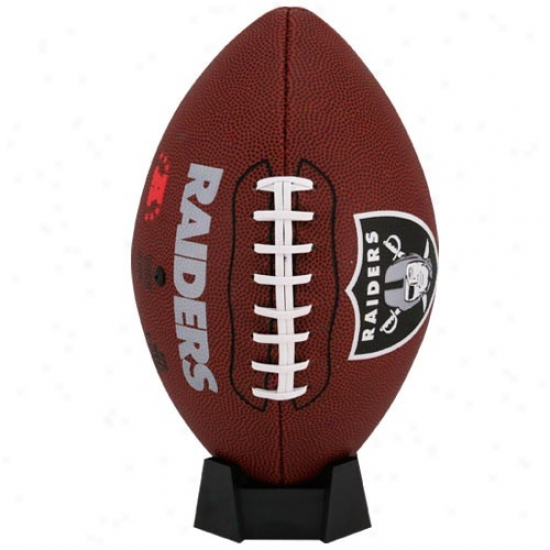 Oakland Raiders Full-size Game Time Football