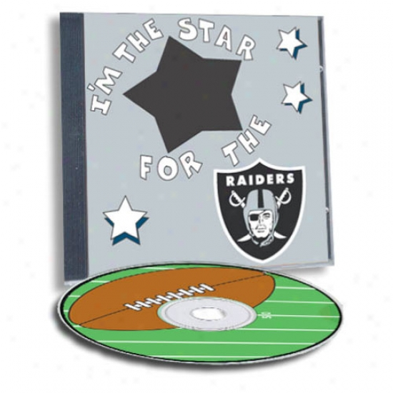 Oakland Rzlders Game Hero Custom Sports Cd
