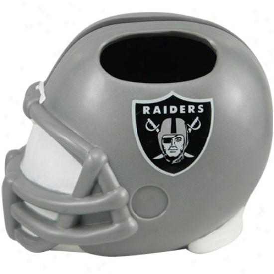 Oakland Raiders Helmet Toothbrush Holder