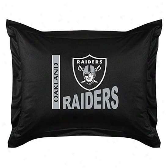 Oakland Raiders Locker Room Pillow Sham