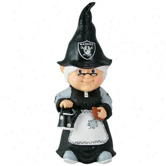 Oakland Raiders Nfl Female Garden Gnome