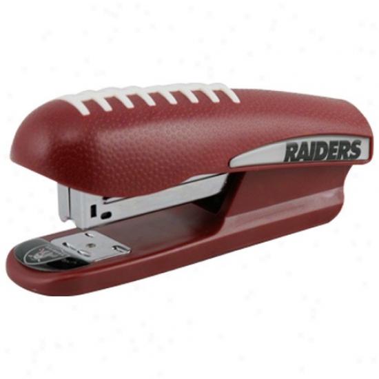Oakland Raiders Pro-grip Football Stapler