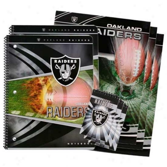 Oakland Raiders School Combo Pack