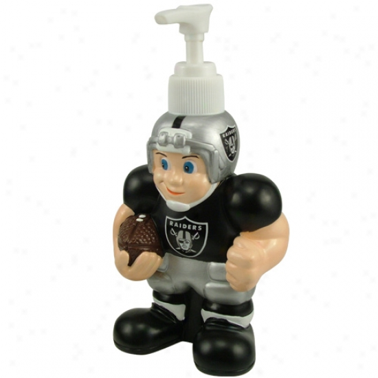 Oakland Raiders Soap Dispenser