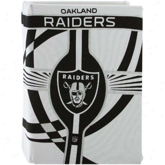 Oakland Raiders Stretchbale Book Cover