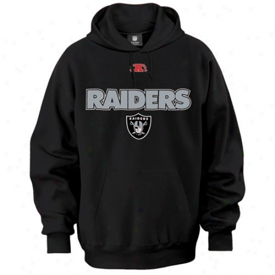 Oakland Raiders Sweatshirt : Oakland Raiders Black Critical Victory Iiii Sweatshirt