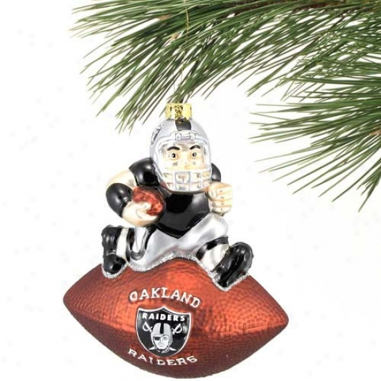 Oakland Raiders Team Spirit Ornament