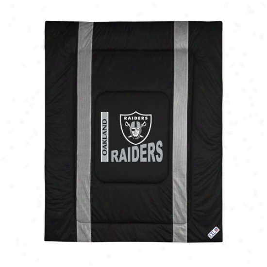 Oakland Raiders Twin Size Sideline Paraclete