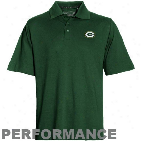 Packers Clothes: Cutter & Buck Packers Green Championship Performance Polo