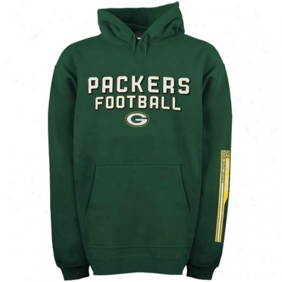 Packers Strip : Reebok Packers Flourishing Stacks Fleece
