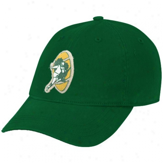 Packers Hat : Reebok Packers Green Basic Logo Slouch Adjustable Hat