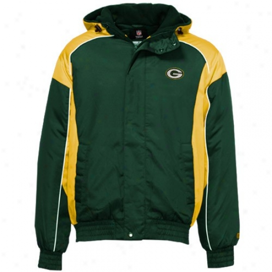 Packers Jackets : Packers Green Field Power Full Zip Jackets