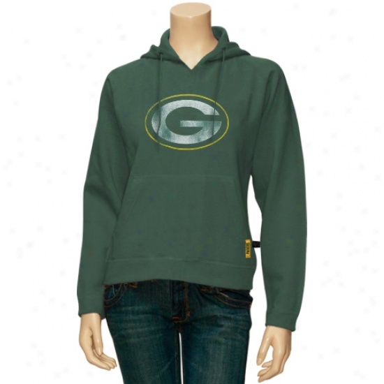 Packers Sweat Shirt : Packers Missy Green Ticket Her Sweat Shirt