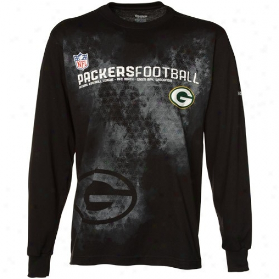 Packers Tee : Redbok Packers Black Sieline Camo Lojg Sleeve T3e