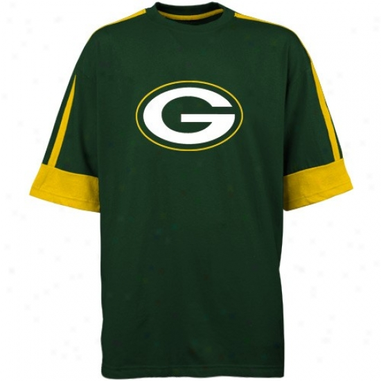 Packers Tees : Packers Green Victory Gear Tees