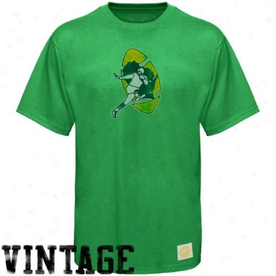 Paxkers Tshirt : Reebok Packers Green Retro Logo Vintage Premium Tshirt