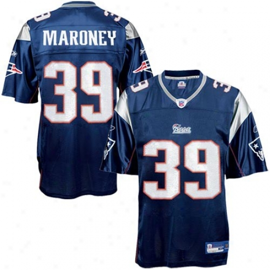 Patriots Jerseys : Reebok Patriots #39 Laurence Maroney Navy Blue Replica Football Jerseys