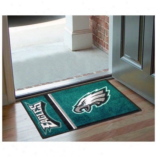 """philadelphia Eagles 20"""" X 30"""" Uniform Starter Mat"""
