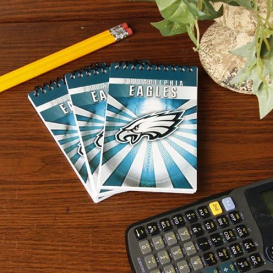 Philadelphia Eagles 3-pack Memo Books