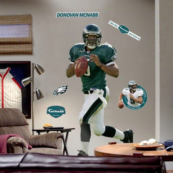 Philadelphia Eagles #5 Donovan Mcnabb Player Fathead