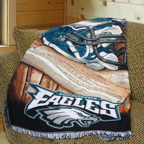 Philadelphia Eagles Acrylic Tapestry Throw Blanket