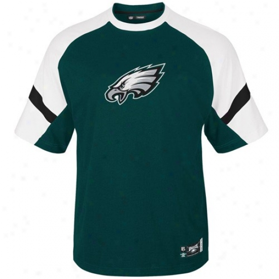 Philadelphia Eagles Apparel: Philadelphia Eagles Green Made of ~ Stunner Premium T-shirt