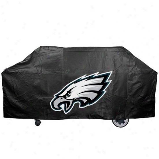 Philadelphia Eagles Black Grill Cover