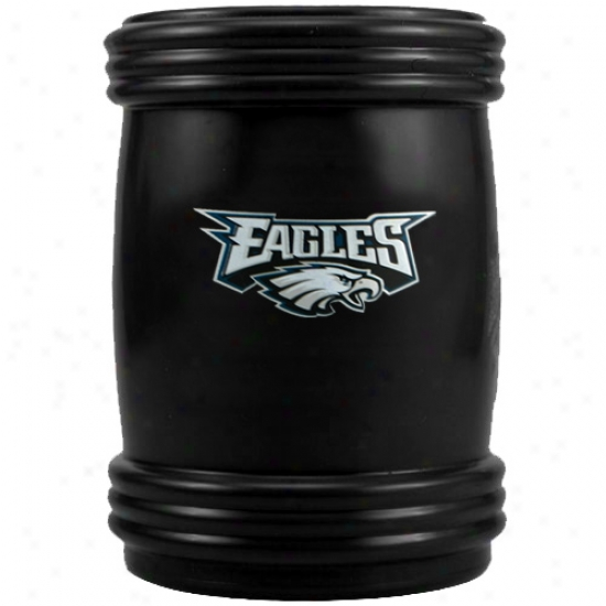 Philadelphia Eagles Black Magnetic Can Coolie