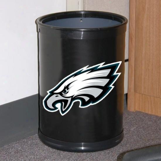 Philadelphia Eagles Murky Team Wastebasket