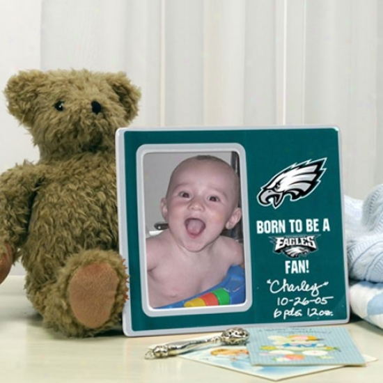 Philadelphia Eagles Born To Be Picture Frame