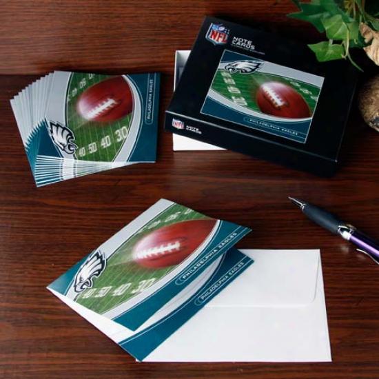 Pniladwlphia Eagles Boxed Note Cards