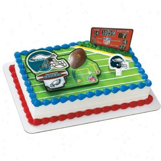 Philadelphia Eagles Cake Decorating Kit