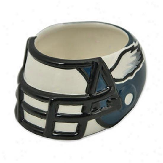 Philadelphia Eagles Ceramic Helmet Bowl
