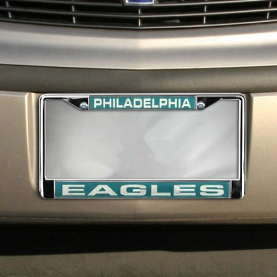 Philadelphia Eagles Chrome License Plate Frame