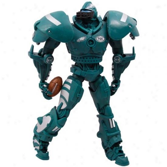 Philadelphia Eagles Fox Sports Cleatus The Robot Action Figure