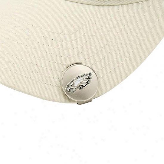 Philadelphia Eagles Golfer's Hat Clip & Magnetic Ball Markers