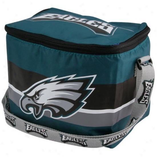 Philadelphia Eagles Green Insulated 12 Pack Cooler