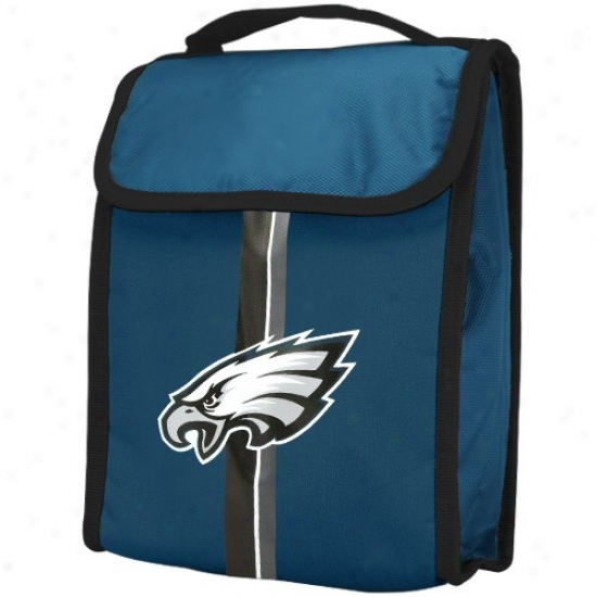 Philadelphia Eagles Green Insulated Nf lLunch Bag