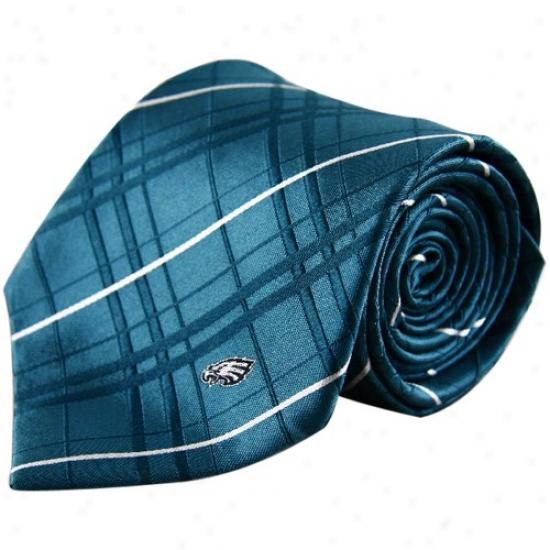 Philadelphia Eagles Green Oxford Woven Tie