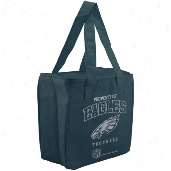 Philadelphia Eagles Green Reusable Insulated Tote Bag