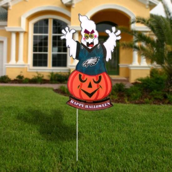 Philadelphia Eagles Halloween Light-up Ghost Figurine