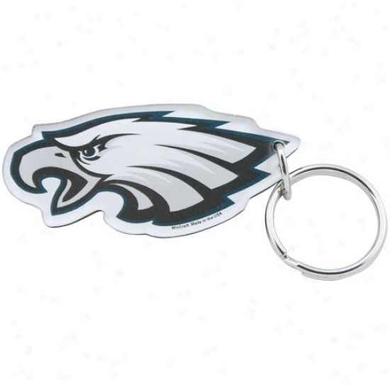 Philadelphia Eagles High Definition Logo Keychain