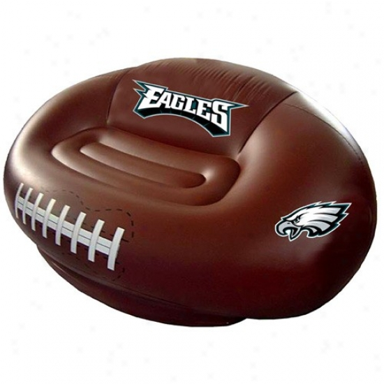 Philadelphia Eagles Inflqtable Football Sofa