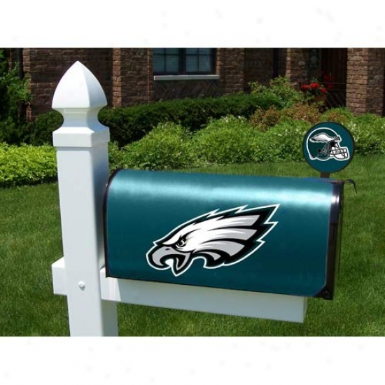 Philadelphia Eagles Mailbox Cover