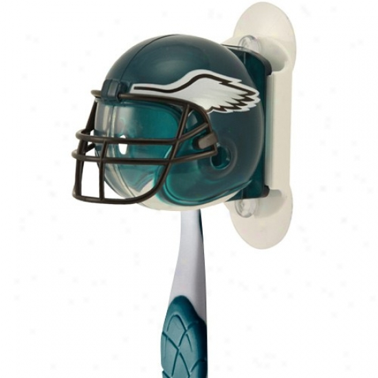 Philadelphia Eagles Mirror Mount Helmet Toothbrush Owner